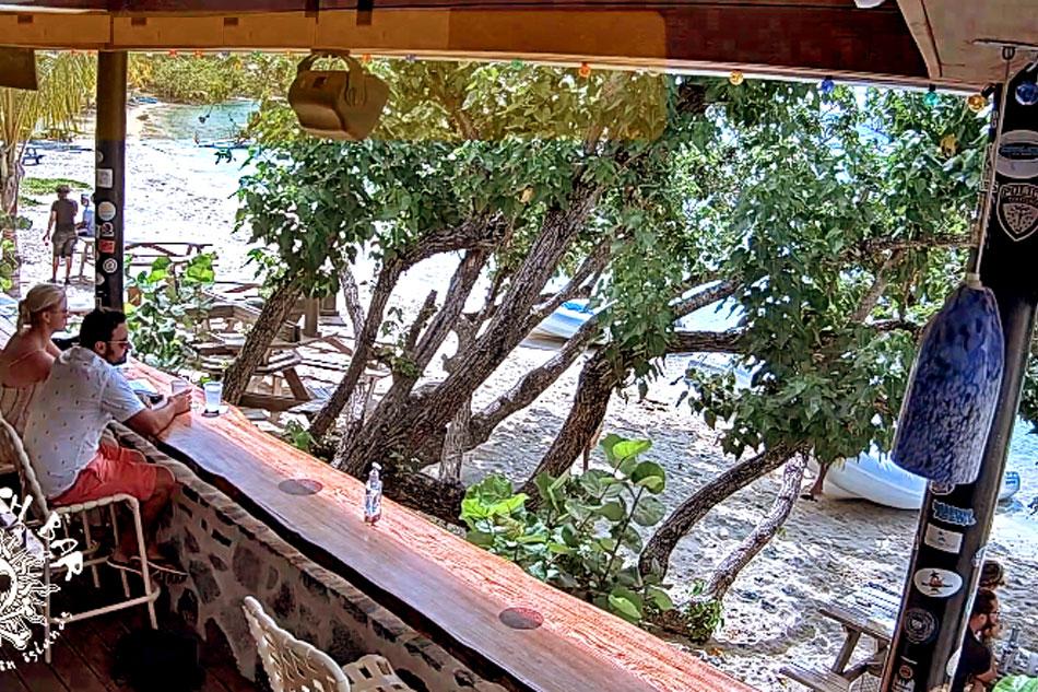 Cruz Bay Beach Bar