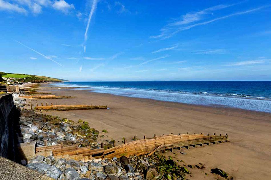 amroth beach in wales