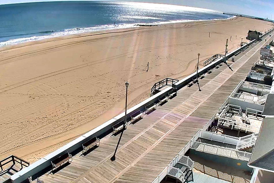 ocean city boardwalk and beach