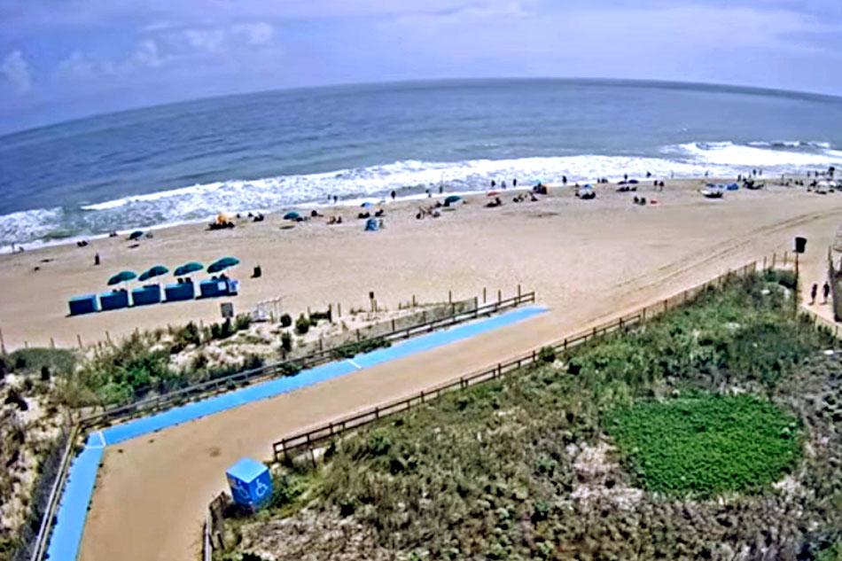 beach in maryland