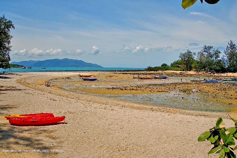 choeng mon beach on samui