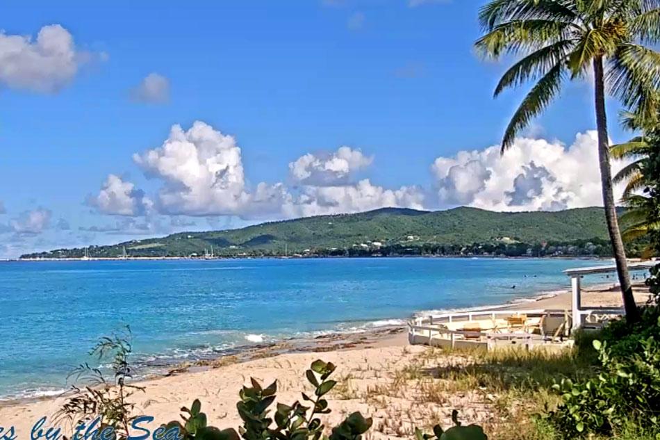 beach webcam on st. croix