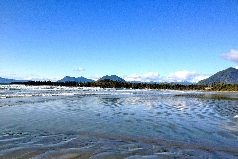 beach at cox bay