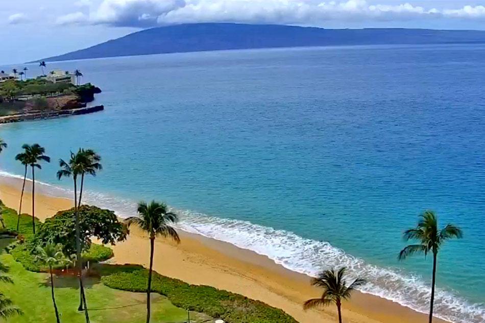 kaanapali beach in maui hawaii