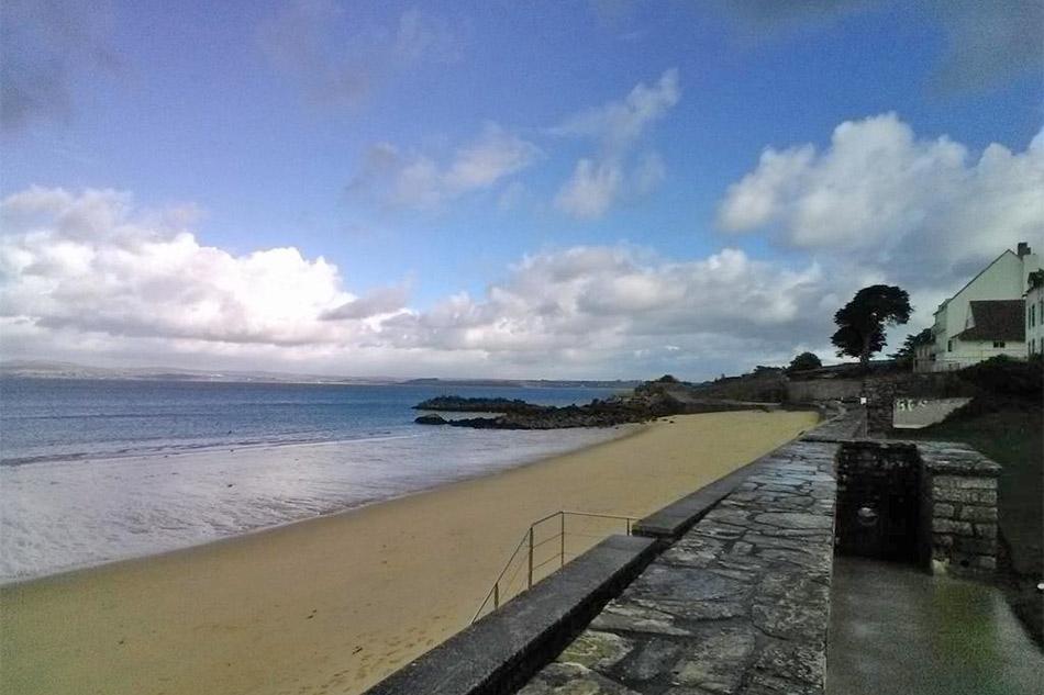 beach at Les Sables Blanc - Brittany