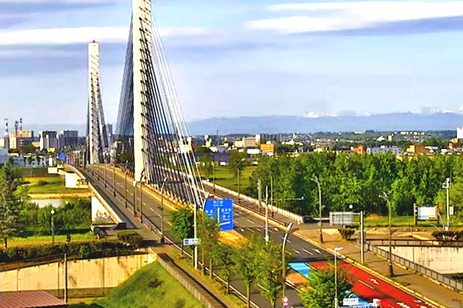 Tokachi Ohashi Bridge Webcam - Japan