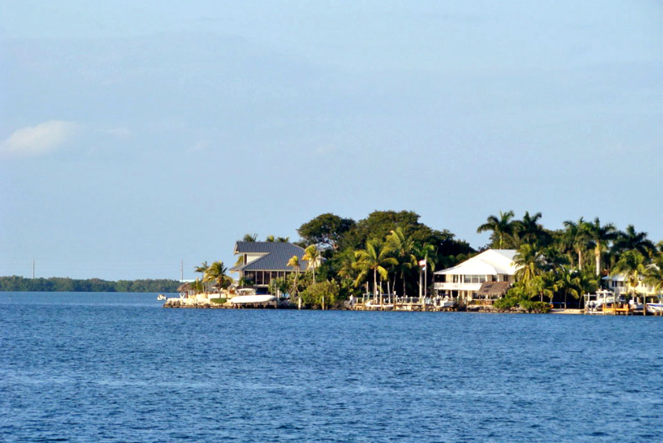 Blackwater sound in Key Largo