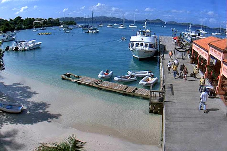 Cruz Bay Harbour Webcam