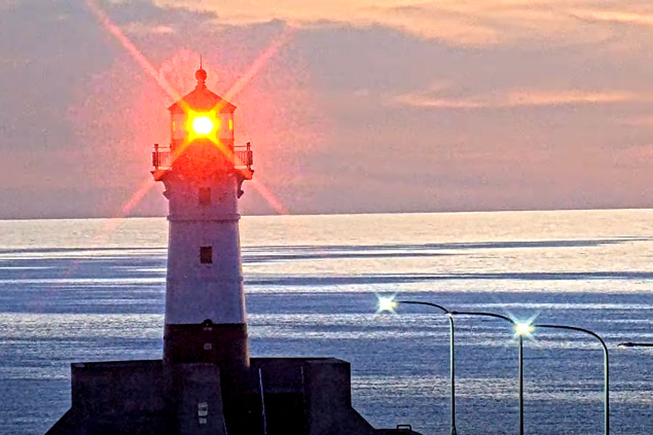 Duluth Harbour lighthouses