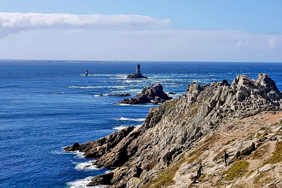 Pointe du raz and lighthouses