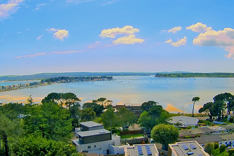 view of poole harbour
