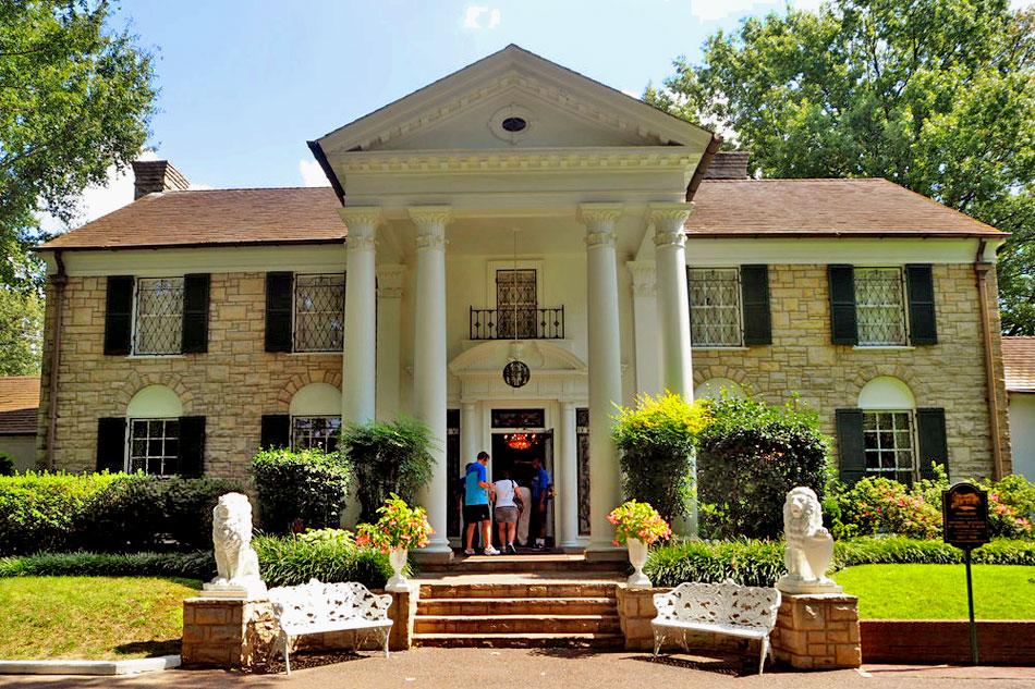 Live Streaming Webcam   Elvis Presley's Graceland Mansion ...