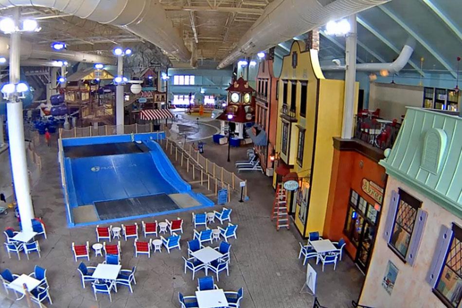 indoor waterpark at boyne mountain