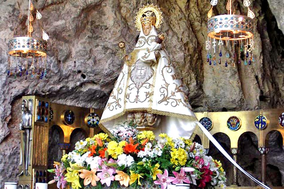 The Santa Cueva de Nuestra Señora de Covadonga
