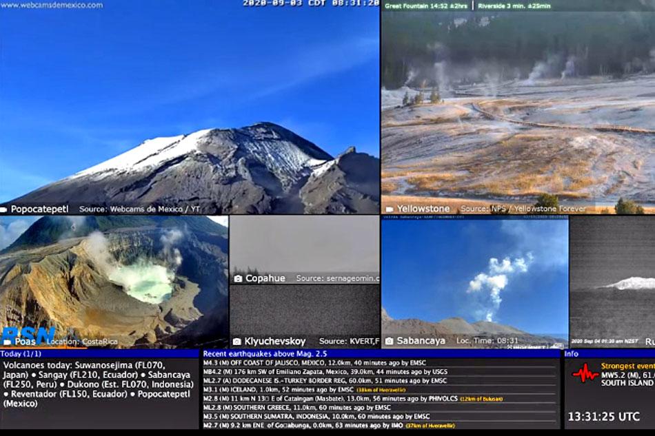 Live Volcano montage