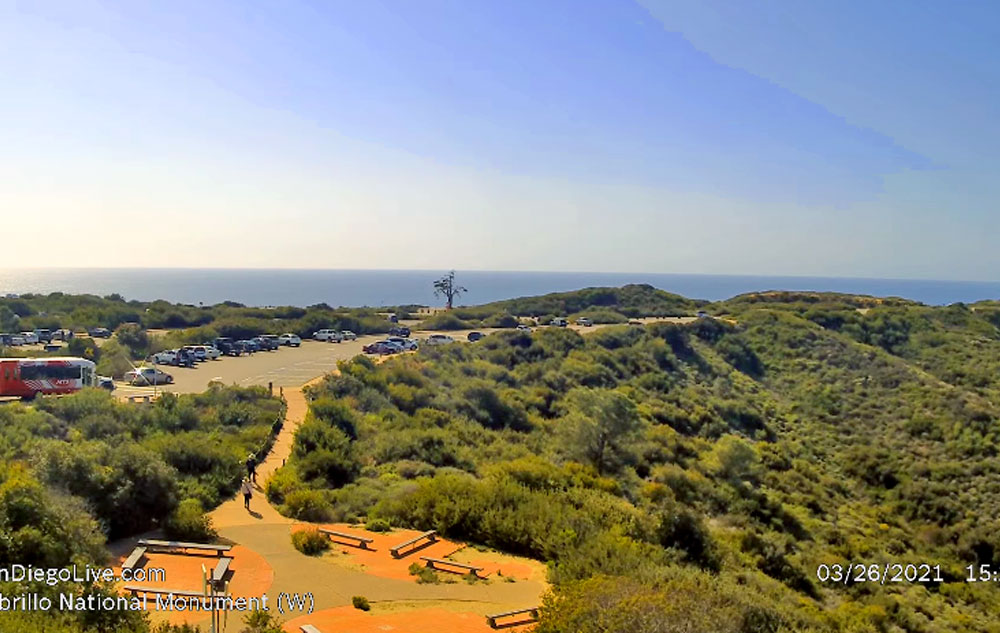 view at cabrillo national monument