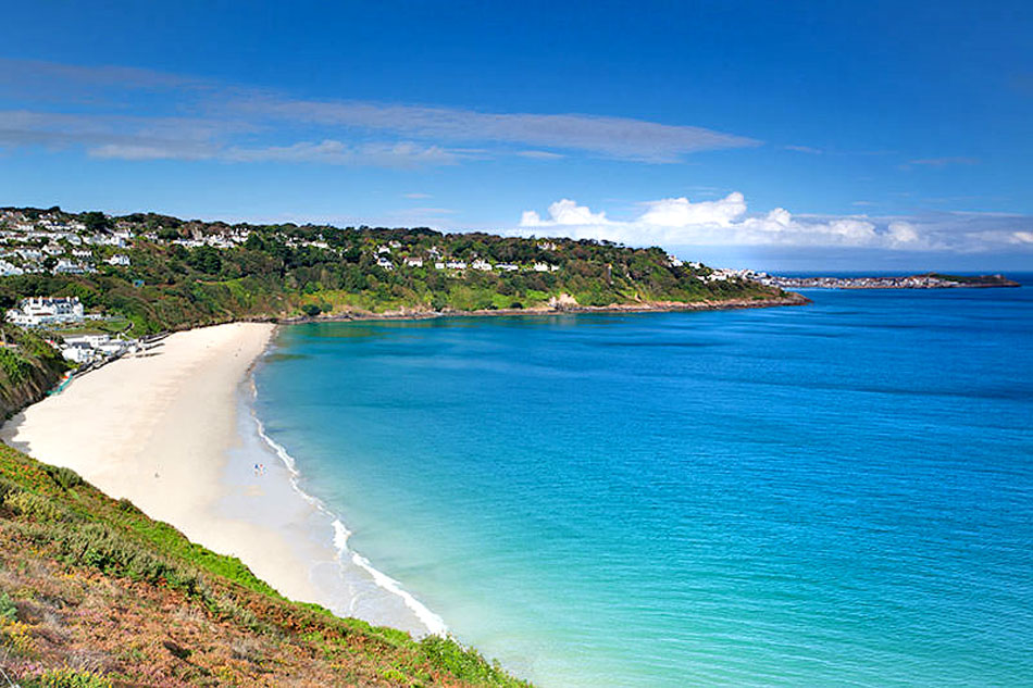 carbis bay and beach