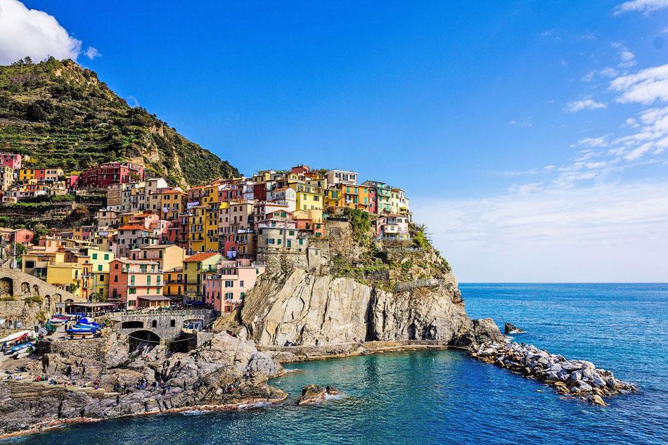 Manarola village in Italy