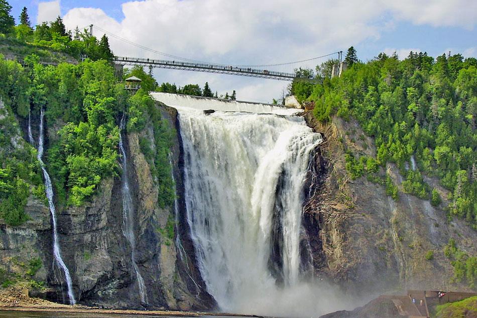 Montmorency Falls Webcam View
