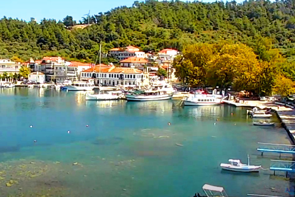 Harbour of Thassos - Greece