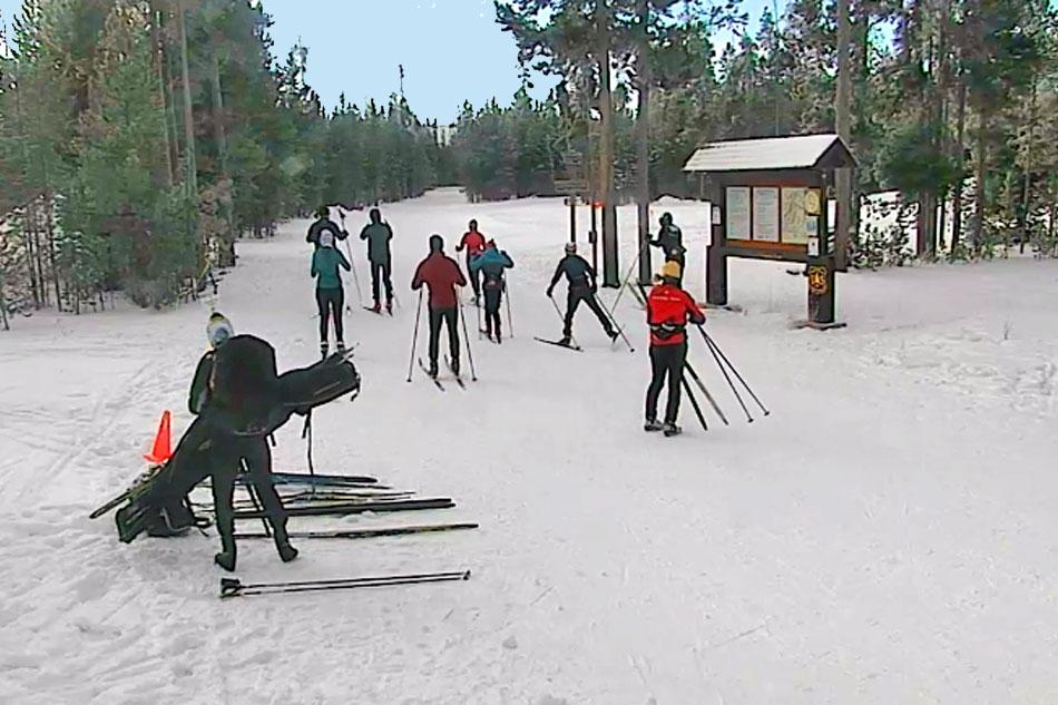ski trail webcam