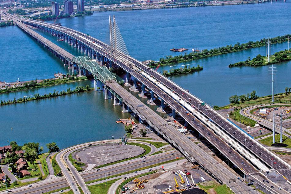 champlain bridge quebec