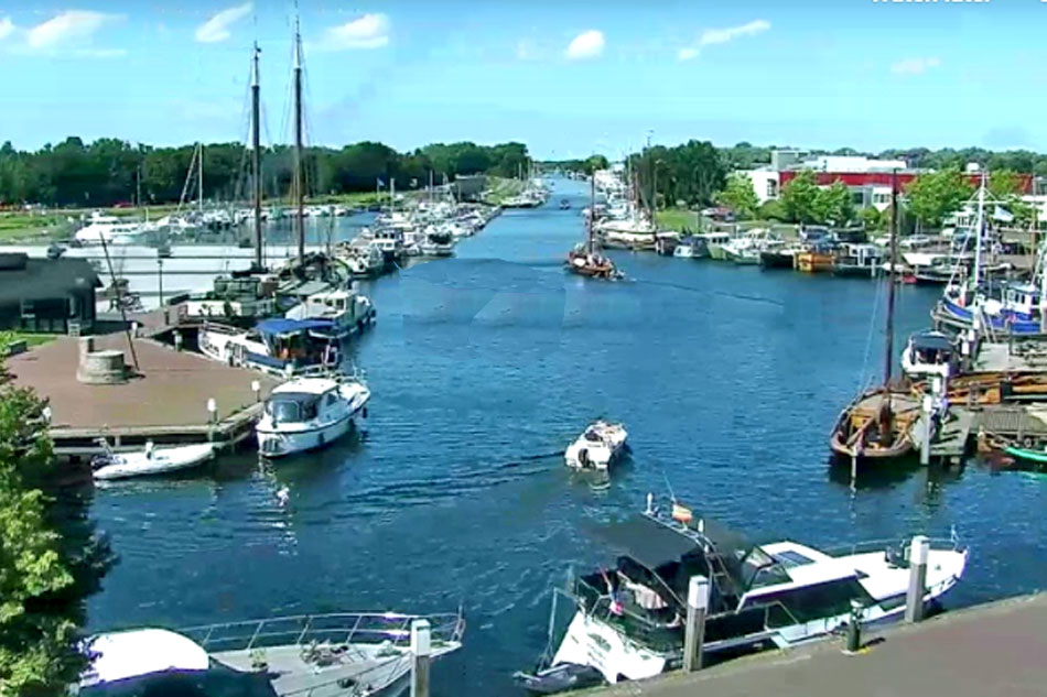 Elburg Harbour and Canal