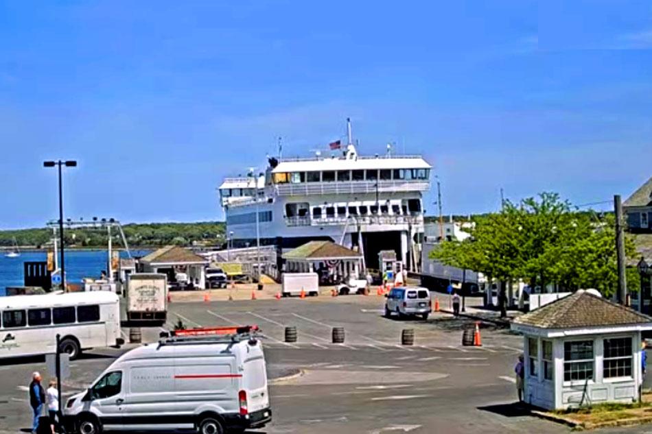 ferry terminal at marthas vineyard