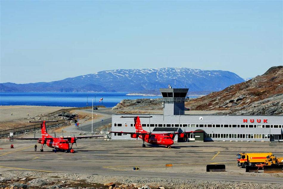 nuuk airport, greenland