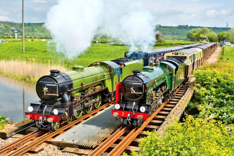 Pair of Steam Engines