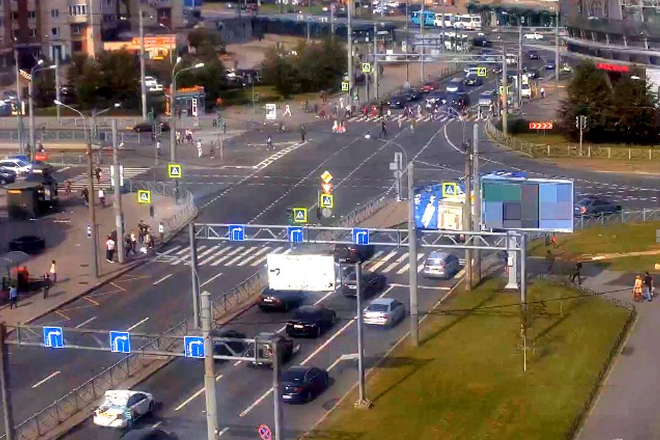 traffic in St. Petersburg