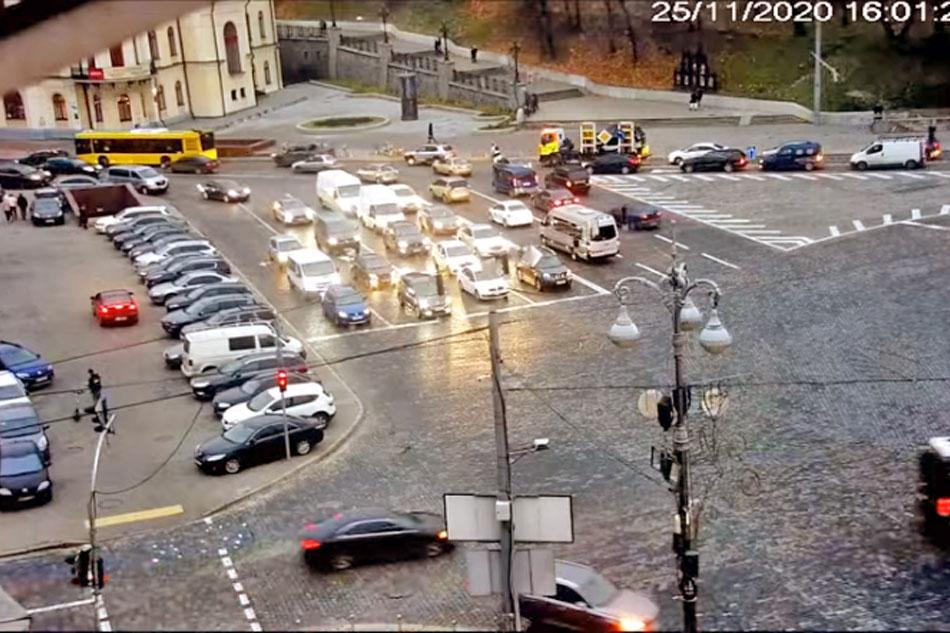 traffic in kiev