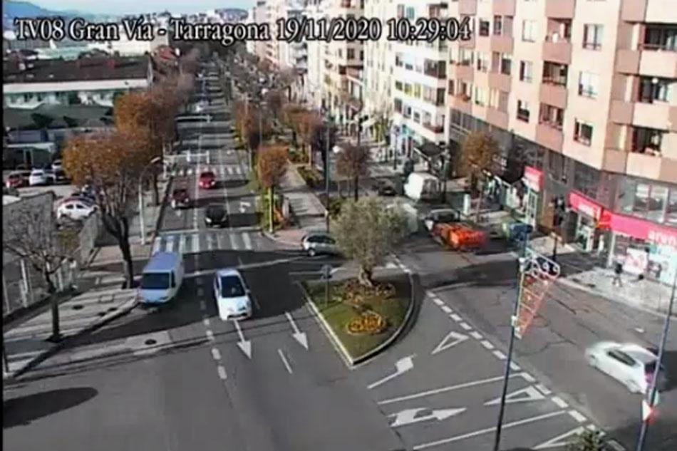 traffic webcam in tarragona