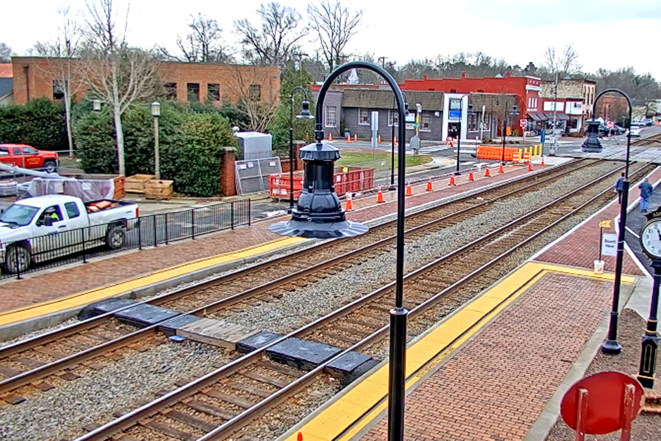train webcam in ashland