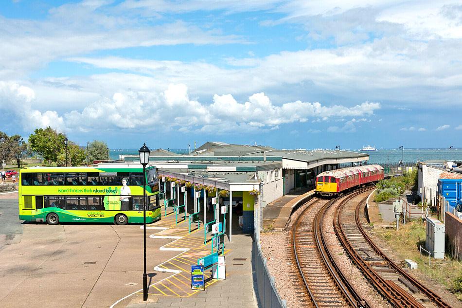 Ryde train line