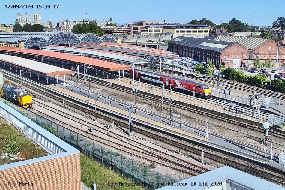 York Railway Station Webcam