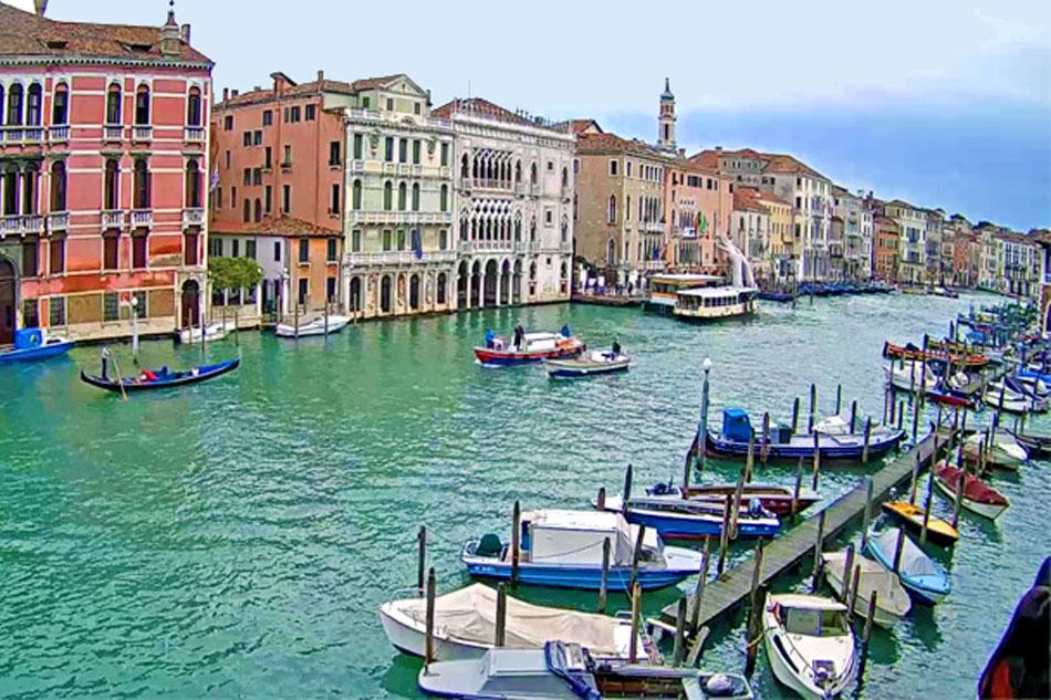 grand canal in venice webcam
