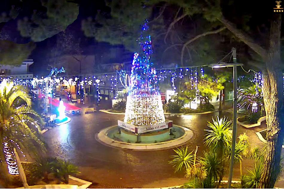 piazza fontana in Lignano sabbiadoro