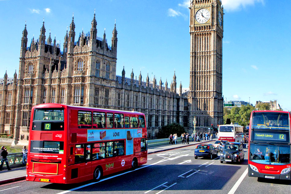 London City Street Scene